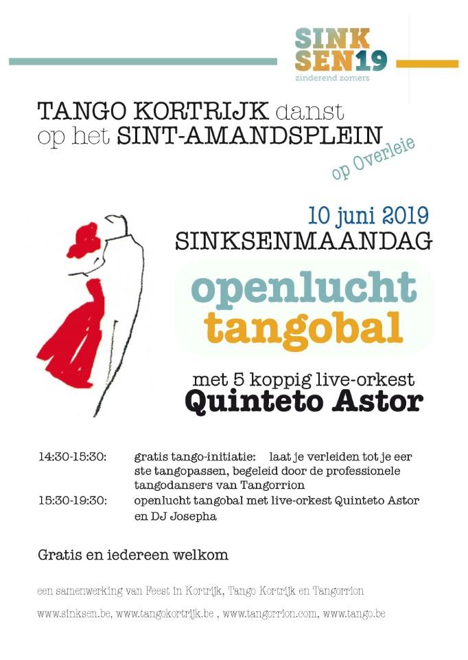 Openluchtbal Sinksenfeesten 2019 @ Overleie